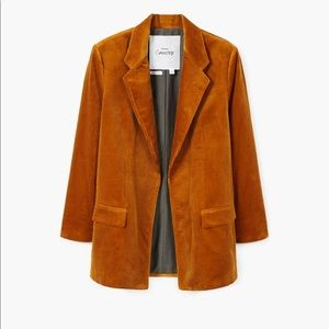 Committed blazer from mango organic cotton